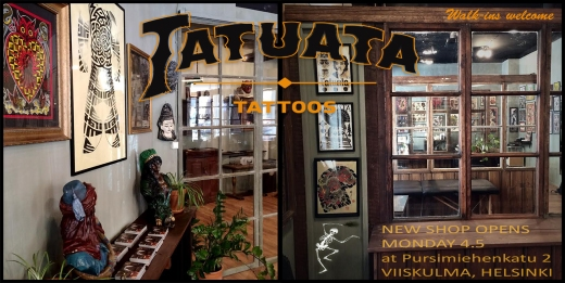 New location for Tatuata tattoos.