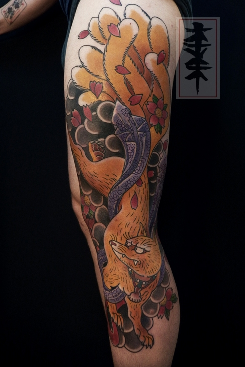 Kitsune tattoo